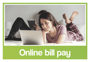 Image of South Lincoln Family Dentistry's online bill pay logo.