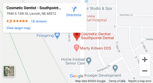 South Lincoln Family Dentistry map
