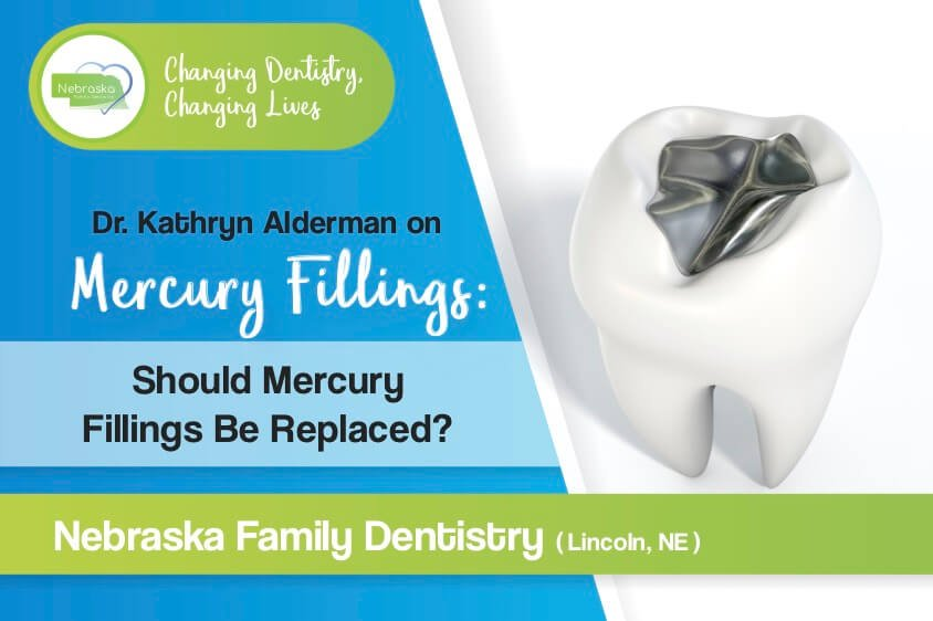 "Image of the Nebraska Family Dentistry banner asking ""should mercury fillings be replaced?"""
