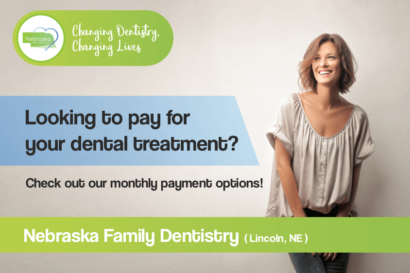 Looking pay for your dental treatment banner. South Lincoln Family Dentistry has affordable dental payment options that might help you.