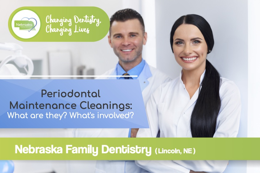 periodontal maintenance cleaning post