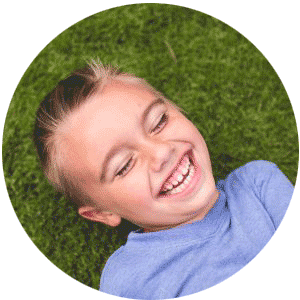 Image of a child with baby teeth at South Lincoln Family Dentistry in Lincoln, NE.